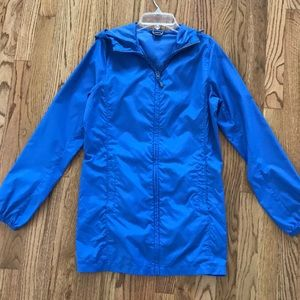 Lands' End Blue Windbreaker Jacket XS 2 - 4